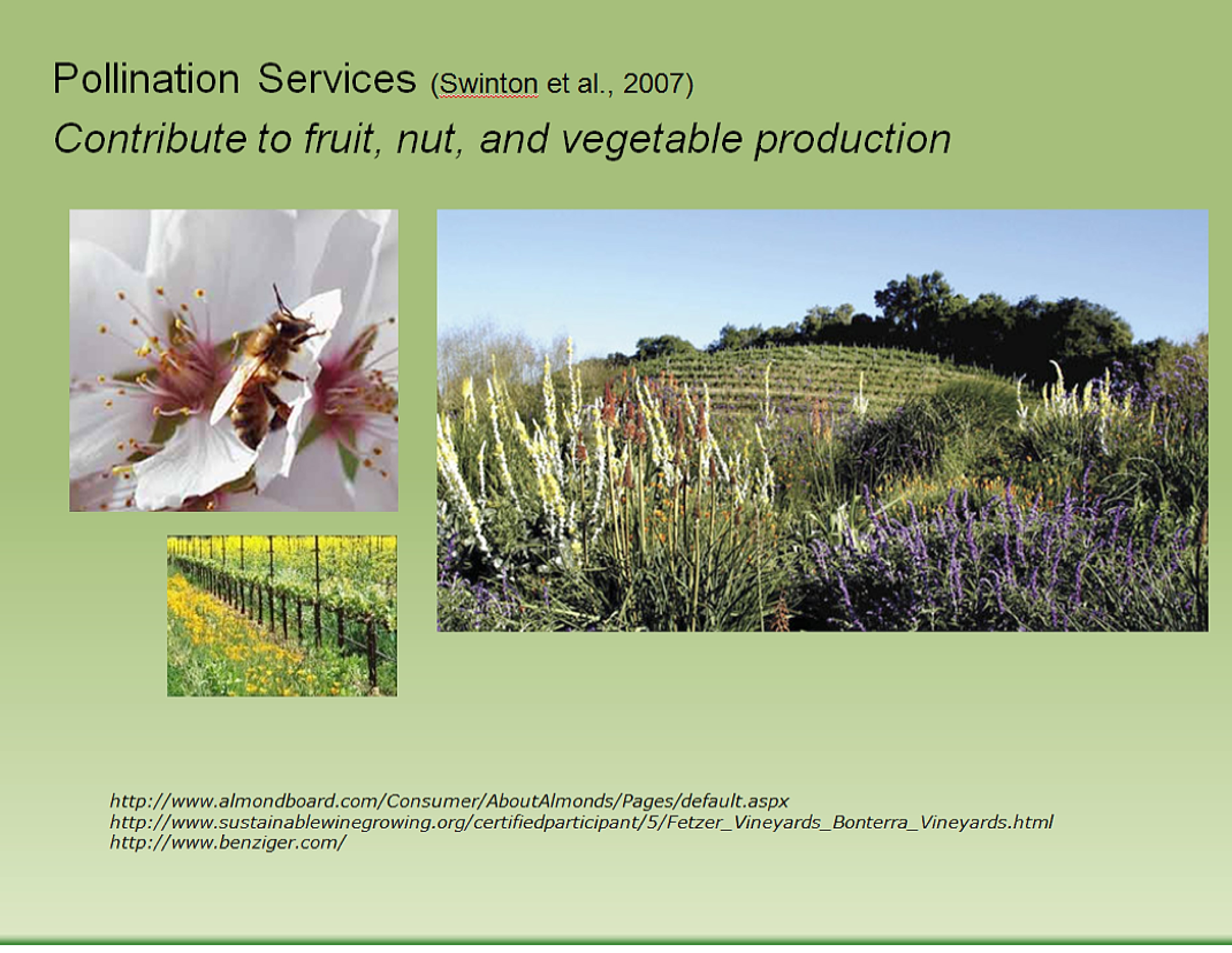 pollination services