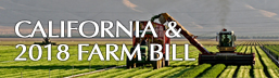 California & 2018 Farm Bill