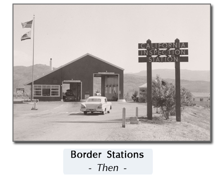 old border station