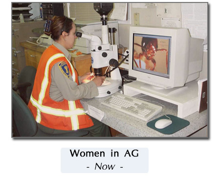 current woman in ag