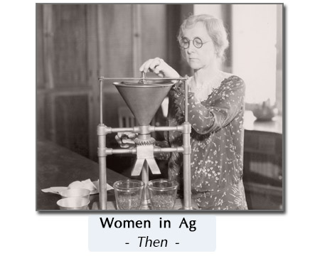 woman in ag long ago