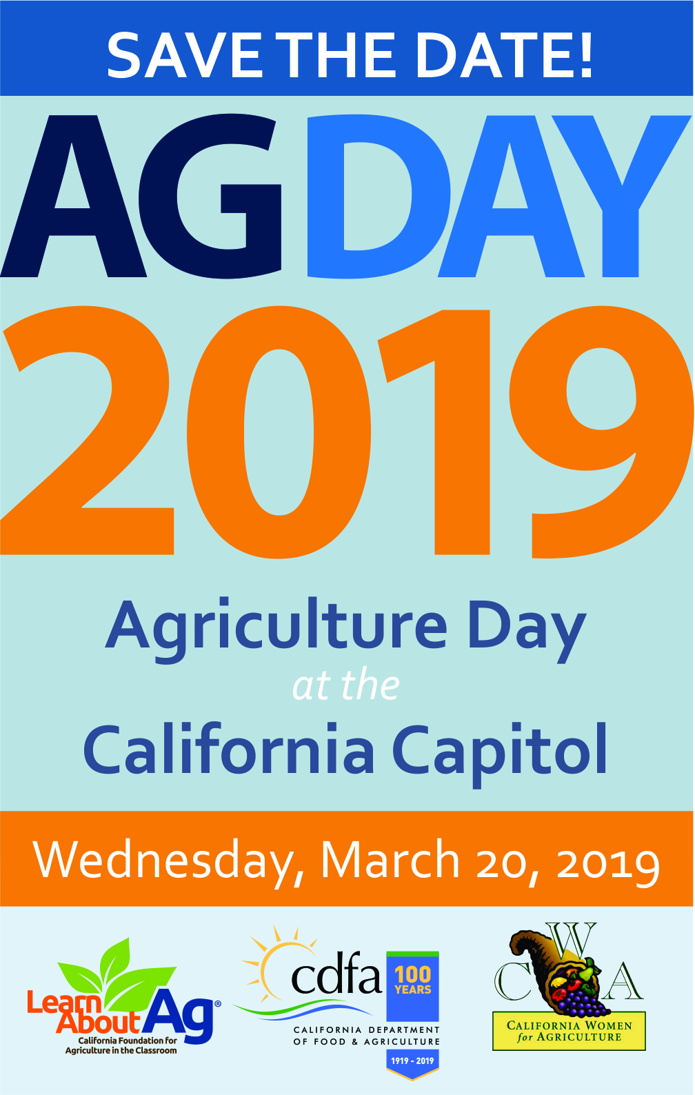Ag Day 2019 Save the Date