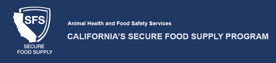 Secure Food Supply banner