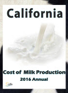 Cost of Milk Production 2016 Annual Cover
