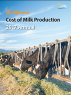 Cost of Milk Production 2017 Annual Cover