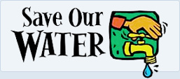 save our water banner