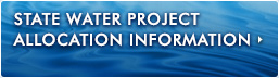 California Department of Water Resources: Water Deliveries