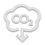 CO2 gas icon