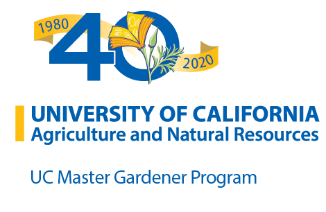 University of California Agriculture and Natural Resources 40th Anniversary logo