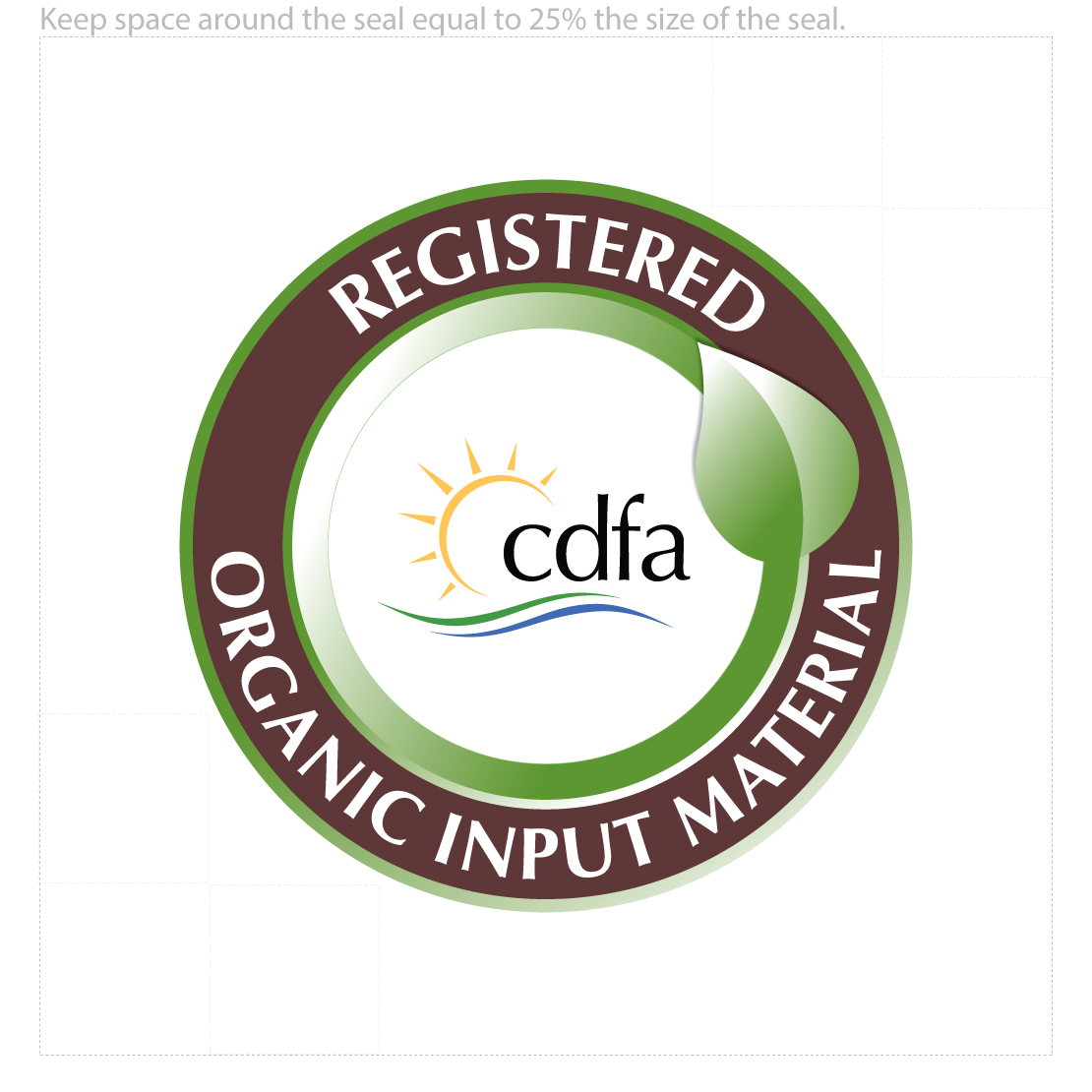 CDFA - IS - Organic Input Material Program