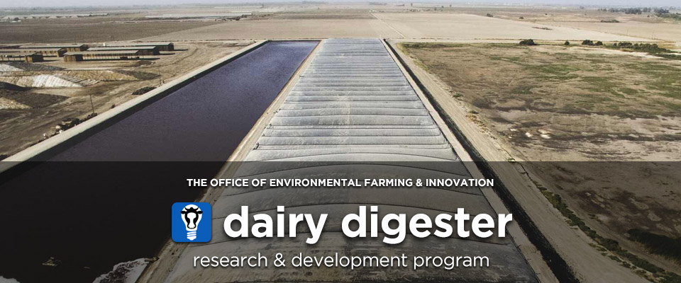 Dairy Digester Research & Development Program