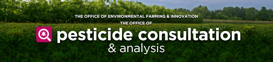 Office of Pesticide Consultation & Analysis