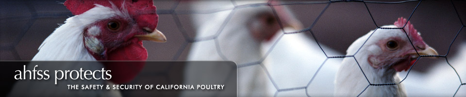 AHFSS protects the safety & security of California poultry