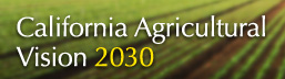 California Agricultural Vision 2030