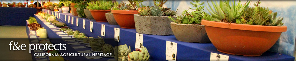 Fairs & Expositions protects California Agricultural Heritage - Plants Show