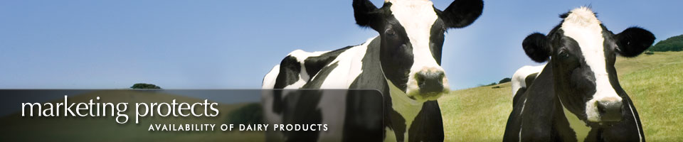 Marketing protects availablility of dairy products